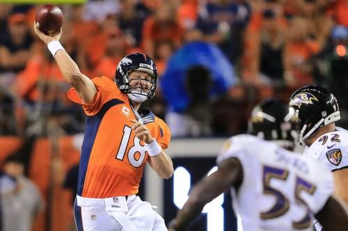 Sete fatos dos sete touchdowns de Peyton Manning
