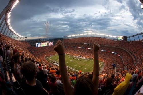 Sports Authority Field at Mile High, casa do Denver Broncos