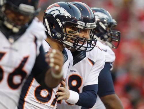 Peyton Manning e Eric Decker arrebentaram com o Chiefs!