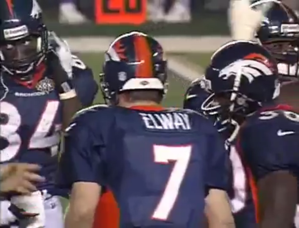 Elway quarterback do Super Bowl XXXII
