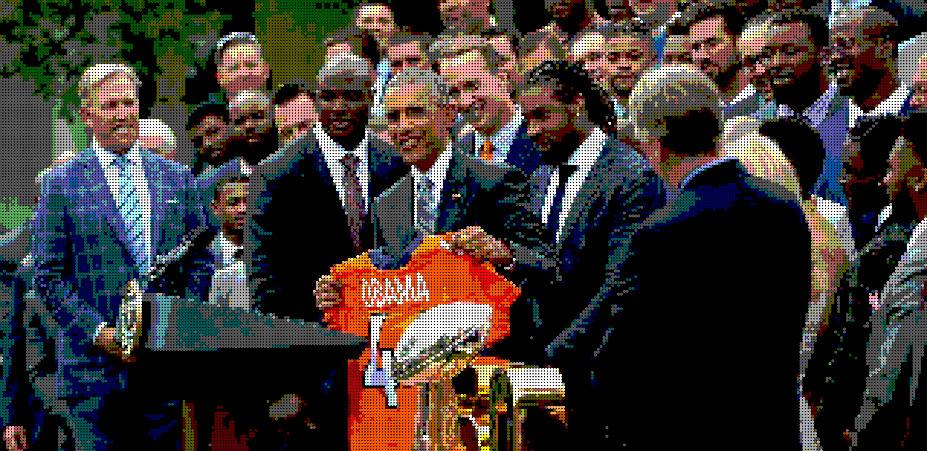 Denver Broncos na Casa Branca