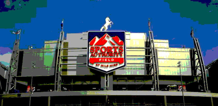 Estádio do Broncos, o Sports Authoirty Field at Mile High