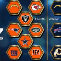 Calendário 2017 Broncos